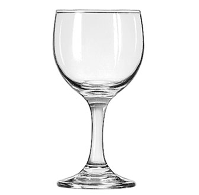 Libbey 3769 6.5-oz Embassy Wine Glass - Safedge Rim & Foot