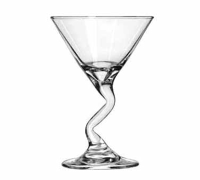 Libbey Glass 37719 5-oz Z-Stem Martini Glass Mini-Dessert