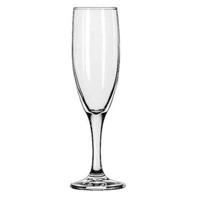 Libbey Glass 3794 4.5-oz Embassy Flute Glass - Safedge Rim & Foot Guarantee
