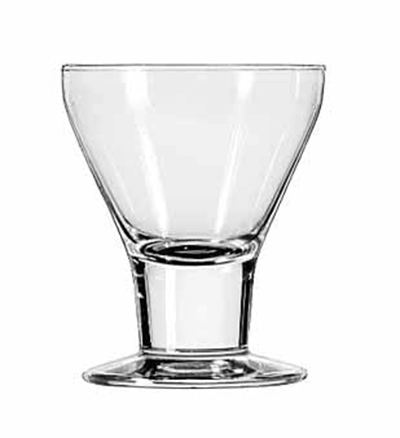 Libbey 3824 7-oz Catalina Rocks Sherbet Glass Dessert - Safedge Rim & Foot