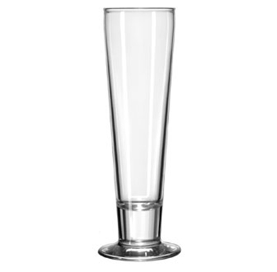 Libbey 3828 12-oz Catalina Pilsner Glass - Safedge Rim & Foot Guarantee