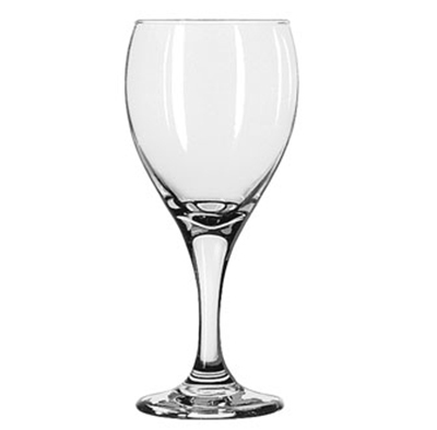 Libbey Glass 3911 12-oz Teardrop Goblet Glass - Safedge Rim & Foot Guarantee