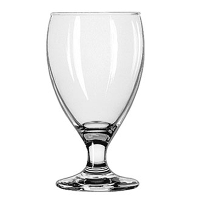 Libbey Glass 3914 10.5-oz Teardrop Goblet Glass - Safedge Rim & Foot Guarantee