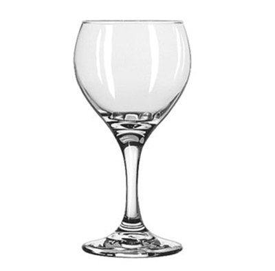 Libbey Glass 3964 8.5-oz Teardrop Red Wine Glass - Safedge Rim & Foot Guarantee