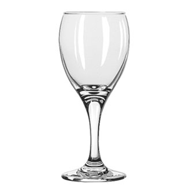 Libbey Glass 3966 6.5-oz Teardrop White Wine Glass - Safedge Rim & Foot Guarantee