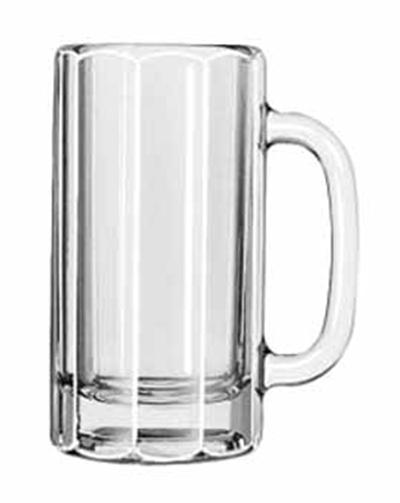 Libbey Glass 5016 12-oz Paneled Mug