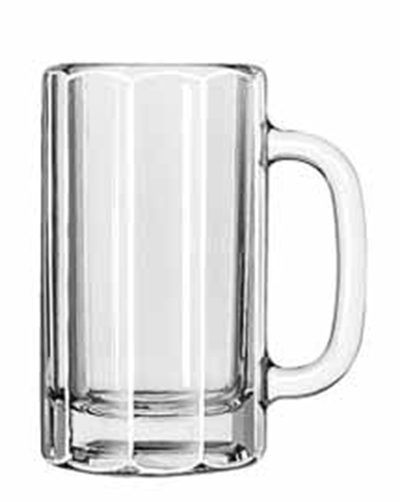 Libbey Glass 5020 16-oz Paneled Mug