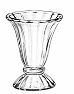 Libbey Glass 5115 6.5-oz Glass Tulip Sun
