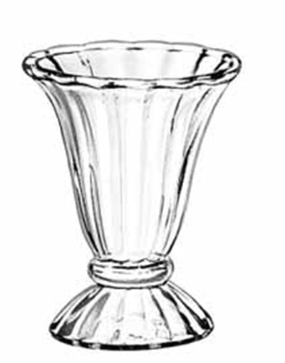 Libbey Glass 5115 6.5-oz Glass Tulip Sundae Dish
