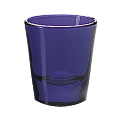 Libbey Glass 5120B 1.5-oz Cobalt Whiskey Shot Glass