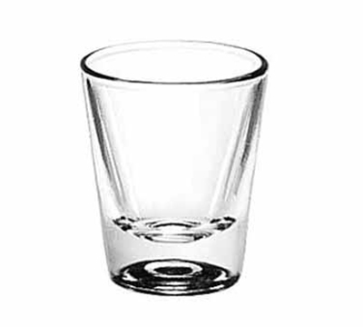 Libbey Glass 5121 1.25-oz Whiskey Shot Glass
