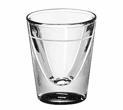 Libbey Glass 5122/S0709 1-oz Lined Shot Glass