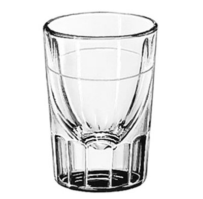 Libbey Glass 5126/S0711 2-oz Lined Fluted Shot Glass
