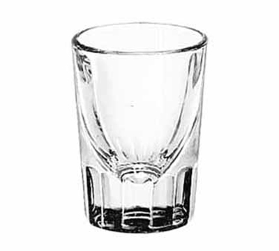 Libbey Glass 5127 1.5-oz Fluted Whiskey Shot Glass