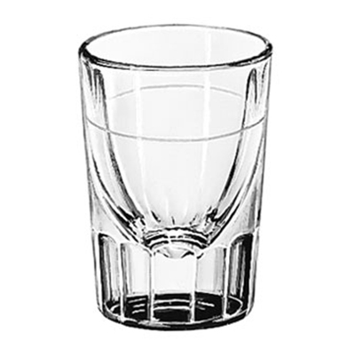 Libbey Glass 5127/S0711 1.5-oz Lined Fluted Shot Glass