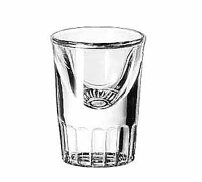 Libbey Glass 5138 1-oz Whiskey Shot Glass Tall