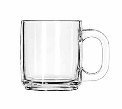 Libbey 5201 10-oz Clear Glass Coffee Mug