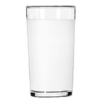 Libbey Glass 53/11680 10-oz Frosted Clear Lip Collins Glass - Safedge Rim Guarantee