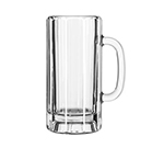 Libbey Glass 5327 22-oz Glass Paneled Mug