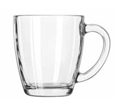 Libbey Glass 5352 14-oz Square Tempo Mug - Handle