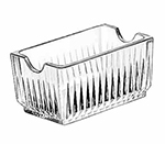 "Libbey Glass 5460 4.25"" Glass Sugar Packet Holder"