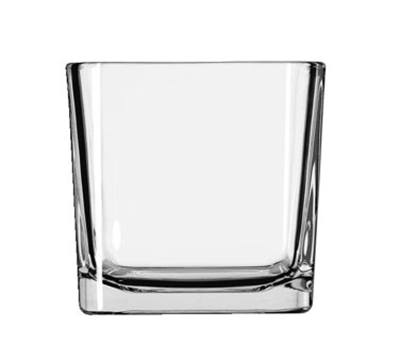 Libbey Glass 5475 14-oz Clear Glass Cube Voltive Candle Holder