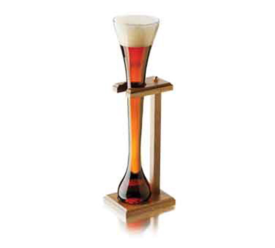 Libbey Glass 55444 32-oz Half-Yard Ale Glass Set w/ Stand
