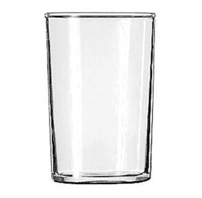 Libbey Glass 58 Straight Sided Seltzer Glass w/ Safedge Rim Guarantee, 6-oz