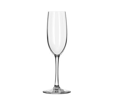 Libbey Glass 7500SR 8-oz Briossa Flute Glass - Sheer Rim