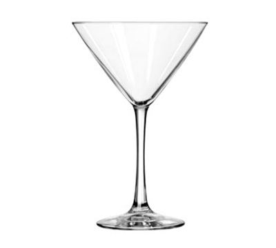 Libbey Glass 7518 10-oz Vina Martini Glass - Finedge & Safedge Rim Guarantee