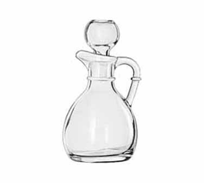 Libbey Glass 75305 6-oz Glass Cruet - Stopper