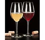 Libbey Glass 7553SR 17-oz SheerRim Wine Glass, Briossa