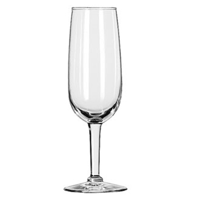 Libbey Glass 8495 6.25-oz Citation Flute Glass - Safedge Rim Guarantee