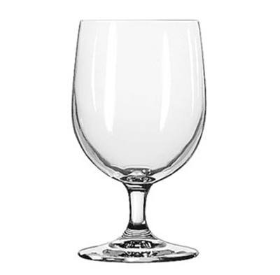 Libbey Glass 8556SR 12-oz Bristol Valley Goblet Glass - Sheer Rim
