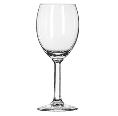 Libbey Glass 8764 7.75-oz Napa Country White Wine Glass - Safedge Rim Guarantee