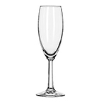 Libbey Glass 8795 5.75-oz Napa Country Flute Glass - Safedge Rim Guarantee