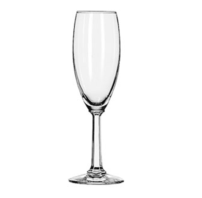 Libbey 8795 5.75-oz Napa Country Flute Glass - Safedge Rim Guarantee