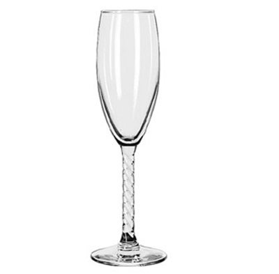 Libbey Glass 8895 5.75-oz Revolution Flute Glass - Safedge Rim Guarantee