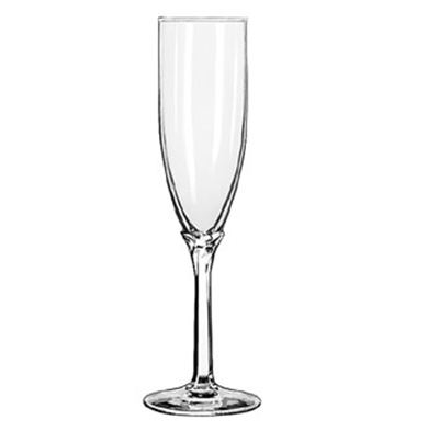 Libbey 8995 6-oz Domaine Flute Glass - Safedge Rim Guarantee