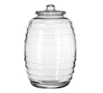 "Libbey Glass 9520004 18.5"" Barrel Canister"