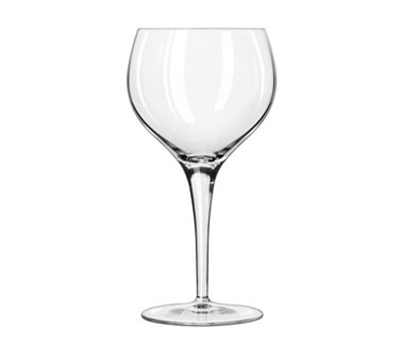 Libbey Glass C343ZX Luigi-Bormiolo Michelangelo Burgundy Glass, 17-oz