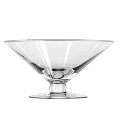 Libbey 1789306 47-oz Footed Super Bowl