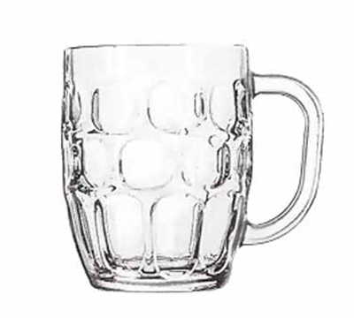 Libbey Glass 5355 19.25-oz Dimple Stein Beer Mug