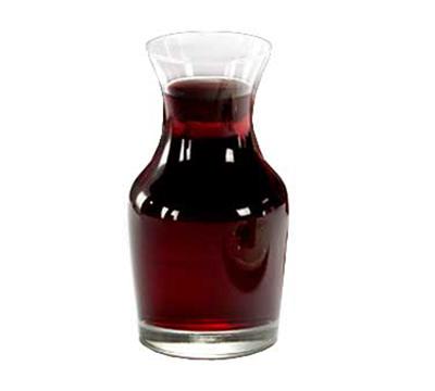 Libbey Glass 735 6.5-oz Glass Wine Decanter - Safedge Rim Guarantee
