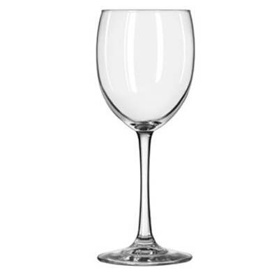 Libbey Glass 7502 12-oz Vina White Wine Glass - Safedge Rim & Foot Guarantee