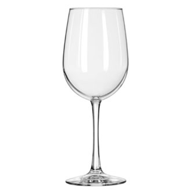 Libbey Glass 7510 16-oz Vina Tall Wine Glass - Safedge Rim & Foot Guarantee