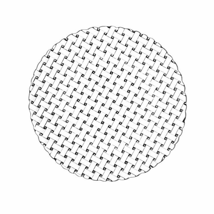 Libbey N78635 9-in Bossa Nova Salad Plate, Nachtmann