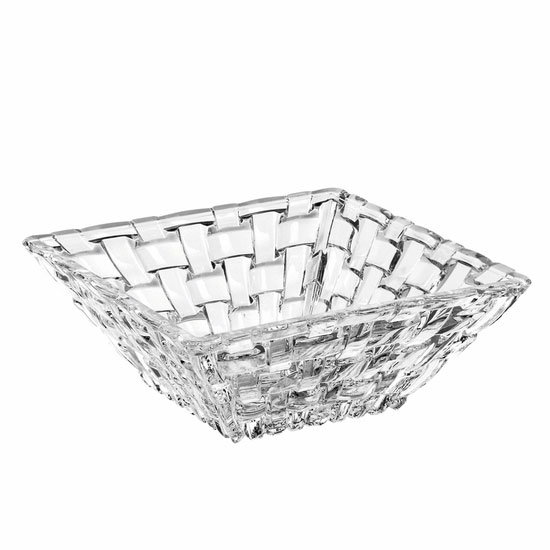 Libbey N89694 4.75-in Bossa Noval Square Bowl, Nachtmann