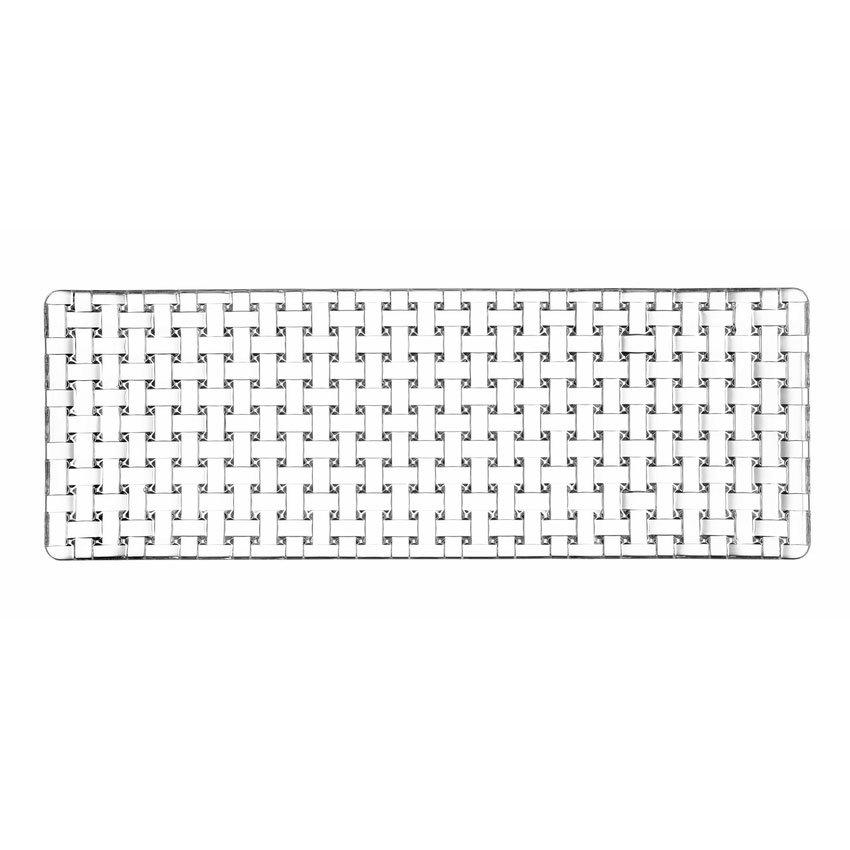 """Libbey N91317 16.5"""" Bossa Nova Rectangular Plate, Nachtmann"""