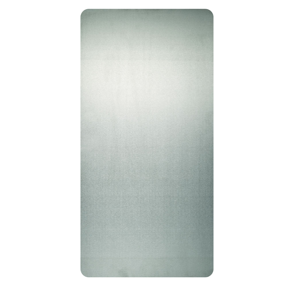 """Excel Dryer 89S Wall Guard for Xlerator Hand Dryers - 31.75"""" x 15.75"""", Brushed Stainless Steel"""